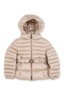 MONCLER Belted hooded coat 2-6 years