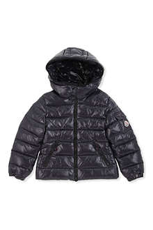 MONCLER Shiny down hooded coat 2-6 years