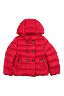 MONCLER Double-breasted padded down coat 2-6 years