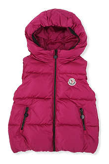 MONCLER Padded gilet with hood 2-6 years