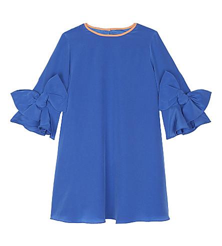 ROKSANDA ILINCIC Brielle silk dress 4-12 years (Electric+blue