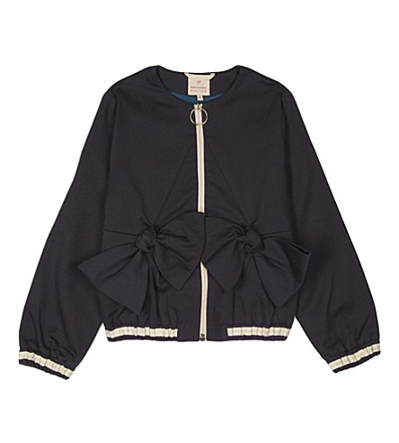 ROKSANDA ILINCIC Narla cotton jacket 6-12 years (Dark+navy