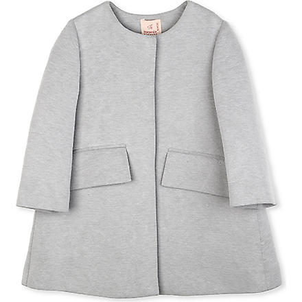 ROKSANDA ILINCIC Fordam pocket jersey coat 2-10 years (Grey