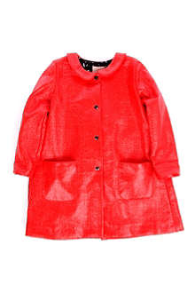 ROKSANDA ILINCIC Patent cotton coat 2-8 years