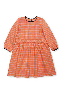 ROKSANDA ILINCIC Check long-sleeved dress 2-10 years