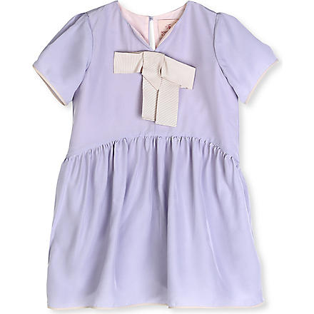 ROKSANDA ILINCIC Bow-detail dress 2-10 years (Lilac