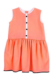 ROKSANDA ILINCIC Neon crepe dress 2-8 years