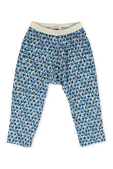 MARNI Star print cotton trousers 4-12 years