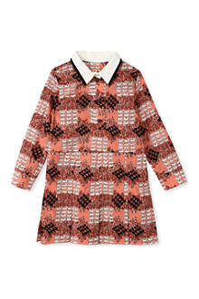 MARNI Bird pattern shirt dress 2-12 years