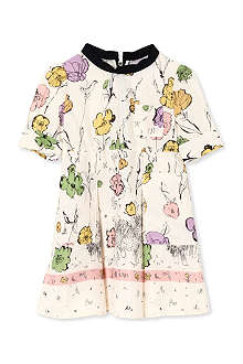 MARNI Floral puff-sleeve dress 2-12 years