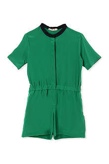 MARNI Contrast neckline playsuit 2-12 years