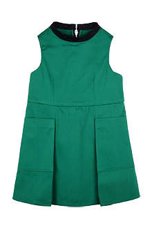 MARNI Pleat twill dress 2-12 years