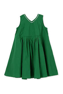 MARNI Pleated detail dress with contrast trim 2-12 years