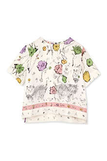 MARNI Floral print blouse 2-12 years