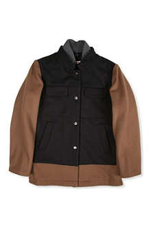 MARNI Contrast pocket coat 4-12 years
