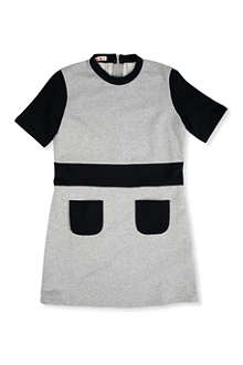 MARNI Contrast pocket sweat dress 4-12 years