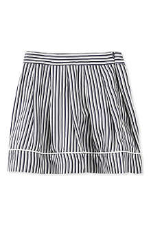 MARNI Striped piping skirt 2-12 years