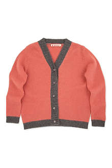 MARNI Contrast cardigan 4-12 years