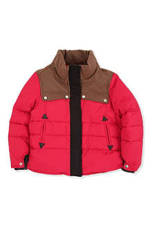 MARNI Colour-block padded jacket 4-12 years