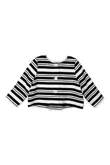 HUCKLEBONES Striped jacket 2-10 years