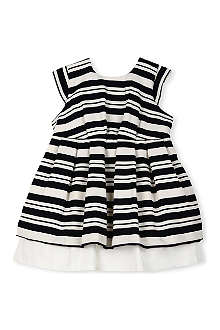HUCKLEBONES Striped dress 2-10 years