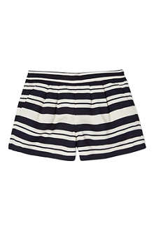 HUCKLEBONES Striped tailored shorts 2-10 years