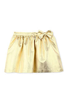HUCKLEBONES Metallic gathered skirt 2-10 years