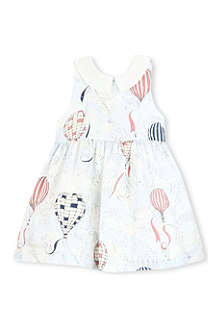 HUCKLEBONES Printed-bodice dress 2-10 years