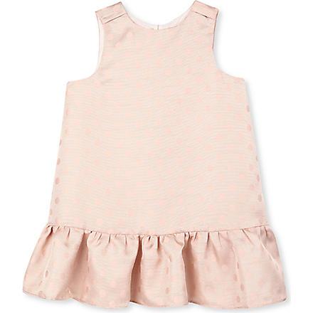 HUCKLEBONES Polka dot dress 2-10 years (Pink
