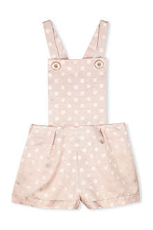 HUCKLEBONES Polka-dot romper 2-10 years