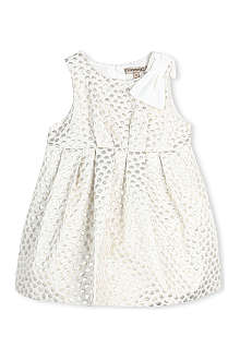 HUCKLEBONES Metallic spot bubble dress 2-10 years