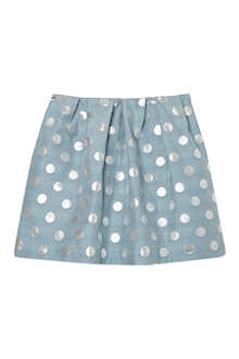 HUCKLEBONES Box pleat skirt 2-10 years