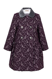 HUCKLEBONES Brocade coat 2-10 years