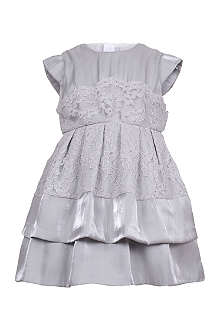 HUCKLEBONES Tiered lace dress 2-10 years