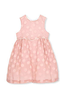 HUCKLEBONES Sweetheart polka dot dress 2-10 years