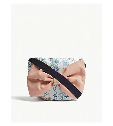 HUCKLEBONES Floral jacquard shoulder bag (Multi