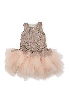 MISCHKA AOKI Floral tulle dress 12 months -10 years