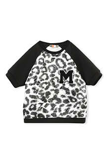 MSGM Metallic leopard print t-shirt 4-14 years