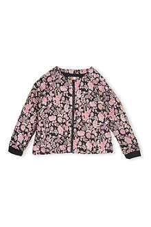 MSGM Jacquard zip up bomber jacket 4-14 years