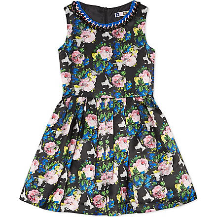 MSGM Floral print dress 4-12 years (Multi