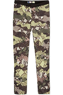 MSGM Snake printed leggings 4-12 years