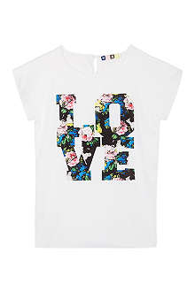 MSGM Printed love top 4-12 years