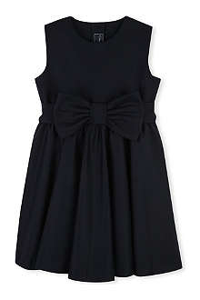 OSCAR DE LA RENTA Bow-detail wool-blend dress 2-12 years