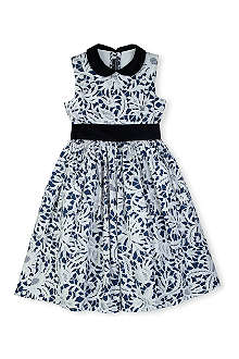 OSCAR DE LA RENTA Lace cotton dress 2-13 years