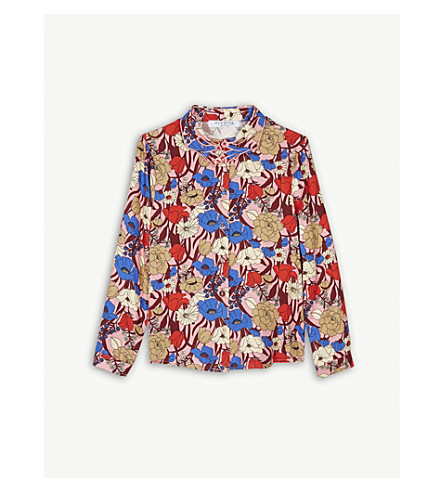 VIVETTA Floral print blouse 4-14 years (Pink+multi