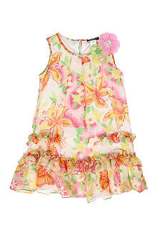 DAVID CHARLES Silk dress 2-8 years