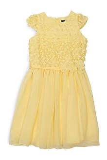 DAVID CHARLES Embellished chiffon dress 10-16 years