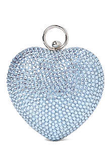 DAVID CHARLES Diamond heart bag