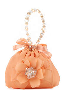 DAVID CHARLES Drawstring flower bag