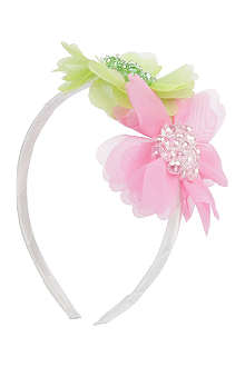 DAVID CHARLES Large flower hairband